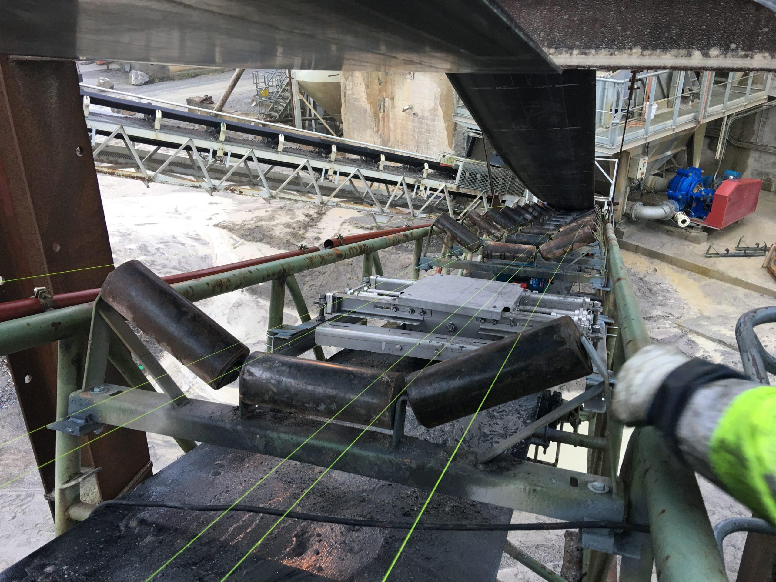 Intégration d'une bascule BMG à 2 stations pesées dans un châssis tubulaire